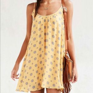 COPY - Urban outfitters yellow summer dress